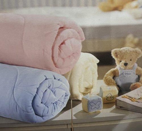 Bambini Baby Deken Wit 100 x 120 cm