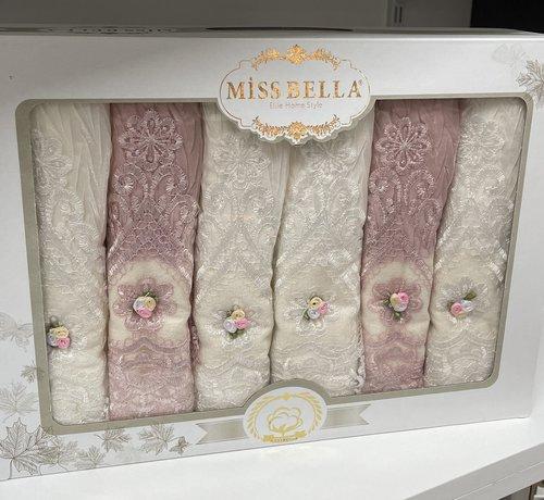 Miss Bella Miss Bella Floretta  Handdoek 6 Delig