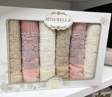 Miss Bella Miss Bella Perla Handdoek 6 Delig