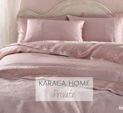 KARACA HOME Karaca Home Luxe Gonca Roze Bedspreiset 6 Delig