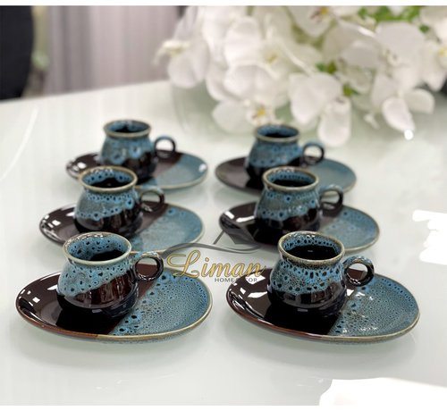 ACR ACR Color Espressoset Blauw 12 DLG