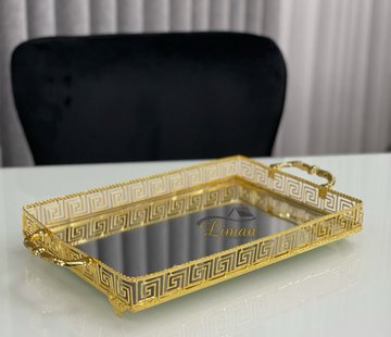 Roland Athena Rechthoek Dienblad Gold