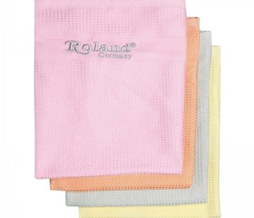 Roland microvezel reinigingsdoekjes (4 stuks)