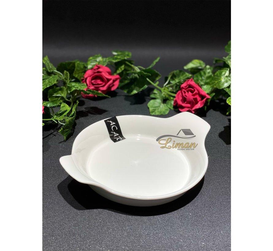 ACR Bianco Perla Omelet schaal 21 Cm