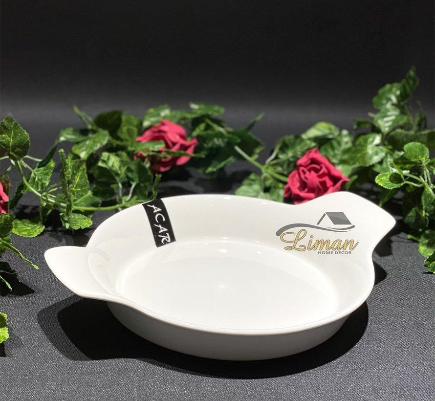 ACR Bianco Perla Omelet schaal 27 Cm
