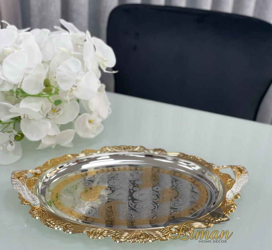 Fugurato Dienblad Zilver - Gold