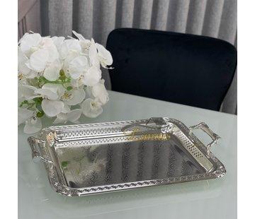 FUGURATO Fugurato Rechthoek Dienblad Met Handvat Zilver