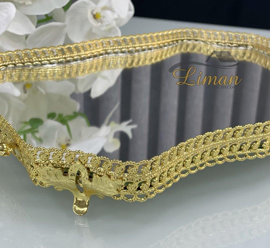 CNR Dienblad Gold 350 x 250