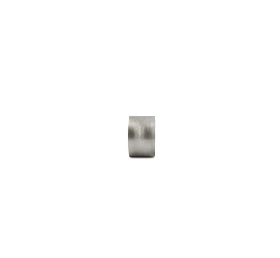 Centro Servetring 4 cm Lijn Zilver 4 Delig