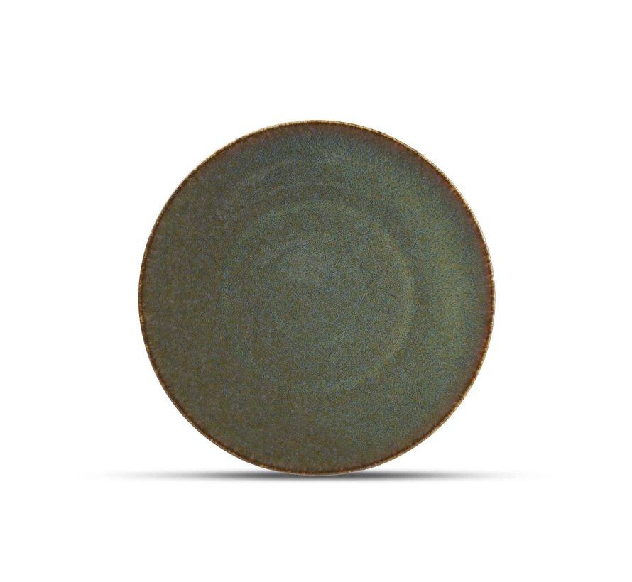 Cirro Teller flach 21cm grün
