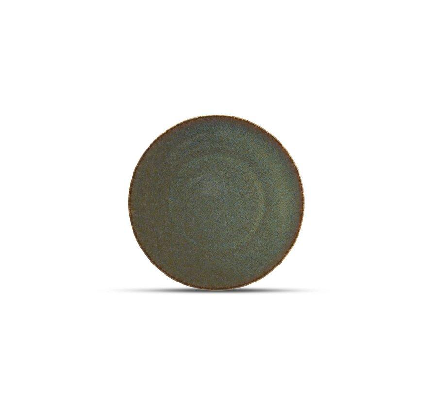 Cirro Plat bord 21cm groen