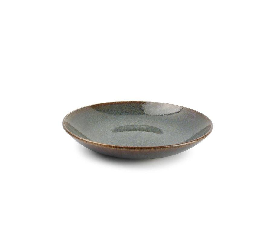 Cirro Diep bord 26xH4,5cm groen