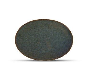 ATS Cirro Teller flach 30x21cm grün