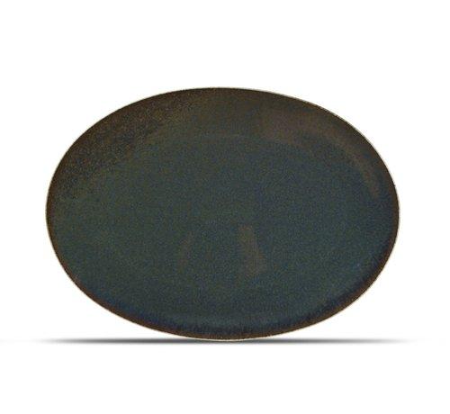 ATS Cirro Teller flach 36x25,5cm grün