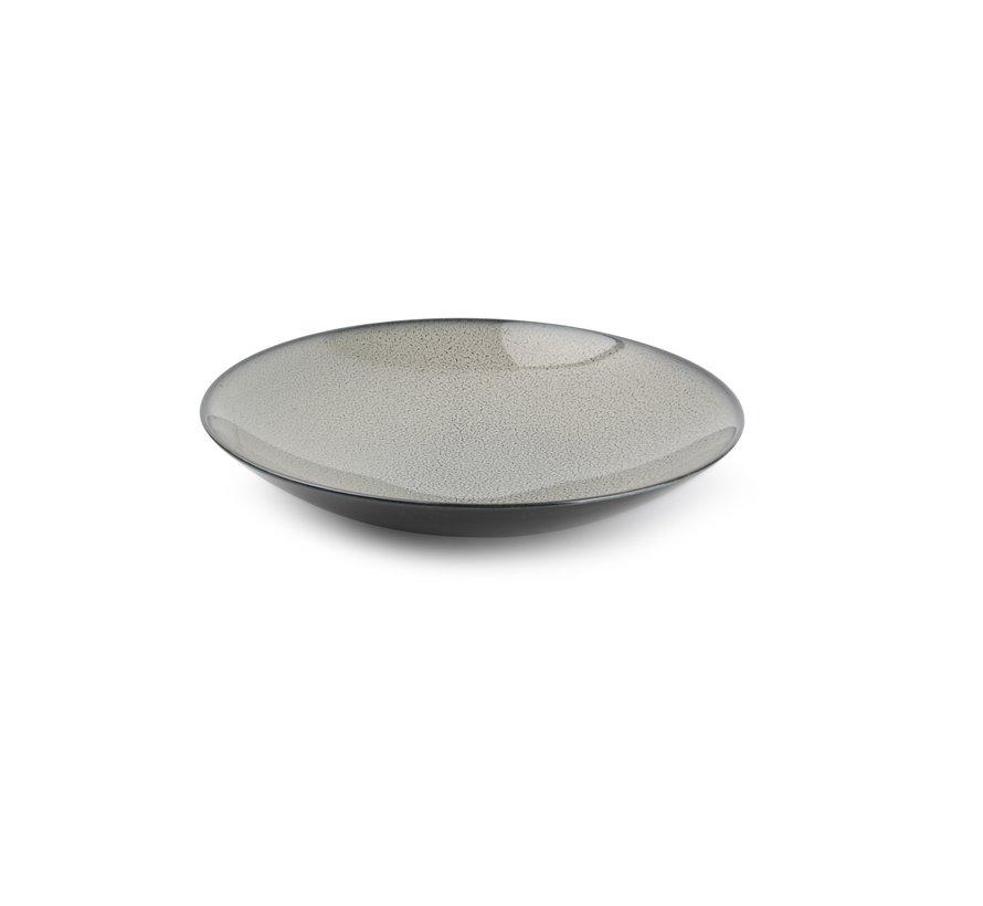 Ash Diep bord 24xH5cm grijs