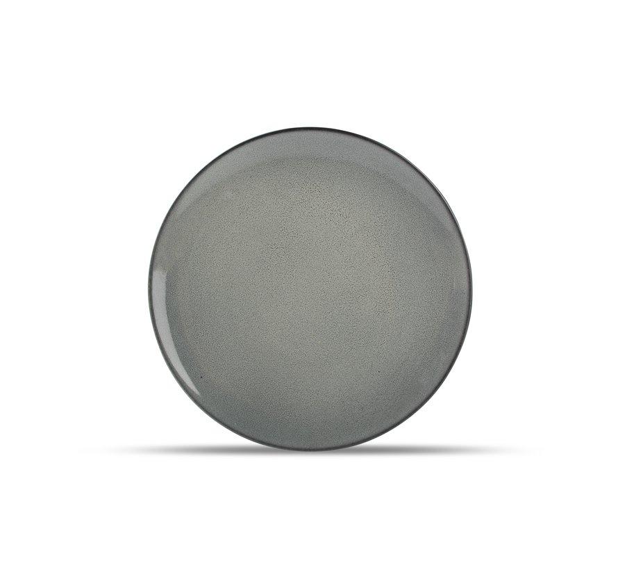Ash Plat bord 27cm grijs