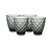 ATS Prisma Glass 22cl grey- set/4
