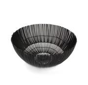 ATS Iris Draadmand 25xH12cm zwart