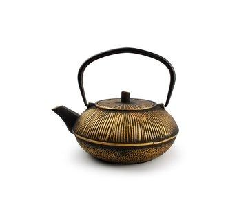 ATS My Tea Teekanne 80cl Steifen gold/schwarz