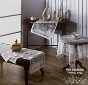 Evlen Home Pirilti Destegul 5  Delig Tafelkleed Set Cream