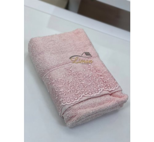 IPEKCE Ipekce Efsun Handdoek 50 x 90 cm Roze
