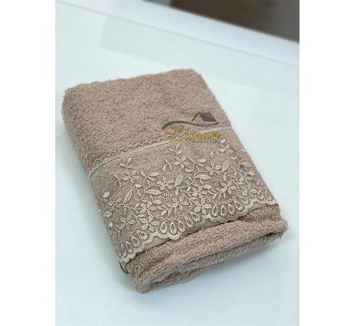 IPEKCE Ipekce Efsun Handdoek 50 x 90 cm Bruin