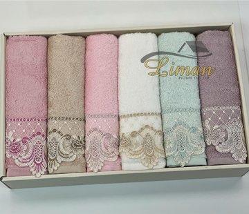 IPEKCE Ipekce Bambu Handdoek 6 Delig