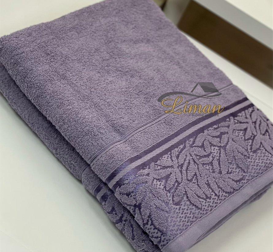 Ipekce Glory Handdoek 90 x 150 Cm Paars