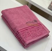 IPEKCE Ipekce Glory Handdoek 90 x 150 Cm Roze