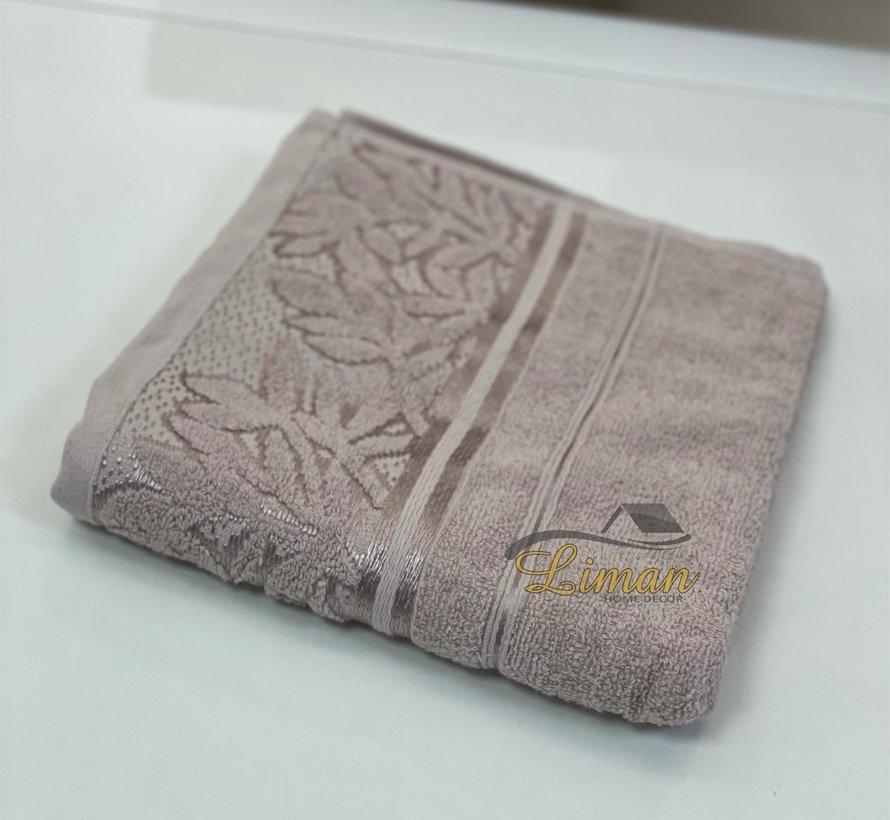 Ipekce Glory Handdoek 50 x 90 Cm Bruin