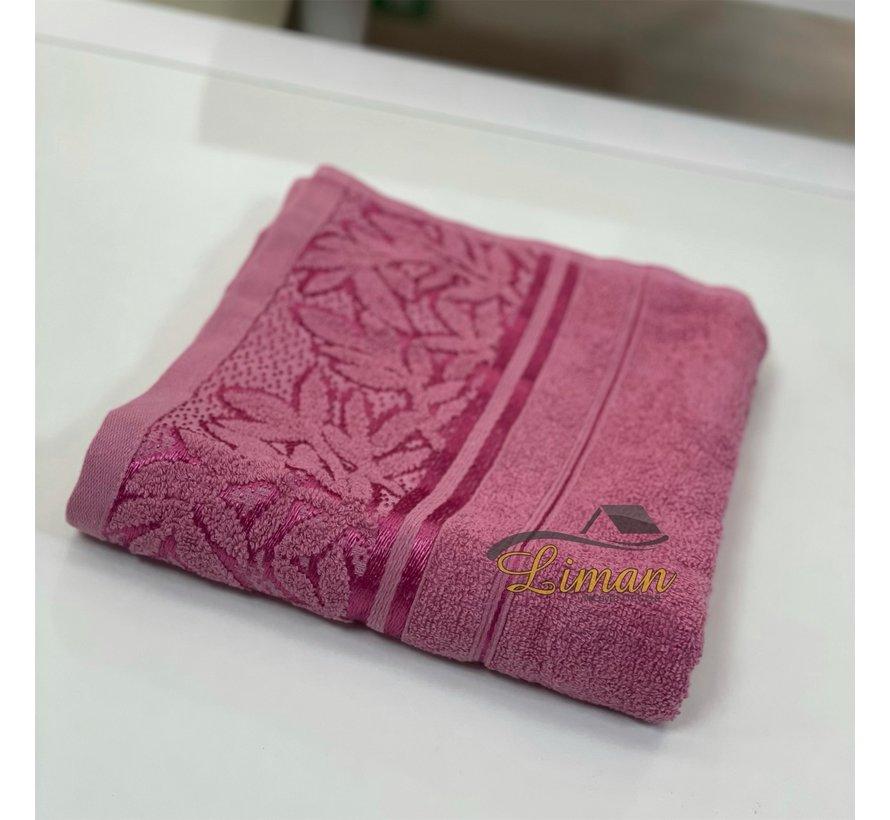 Ipekce Glory Handdoek 50 x 90 Cm Roze