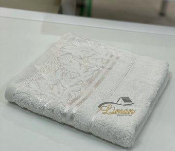 IPEKCE Ipekce Glory Handdoek 50 x 90 Cm Cream