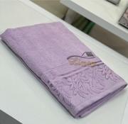 IPEKCE Ipekce Glory Handdoek 90 x 150 Cm Lila / Licht Paars