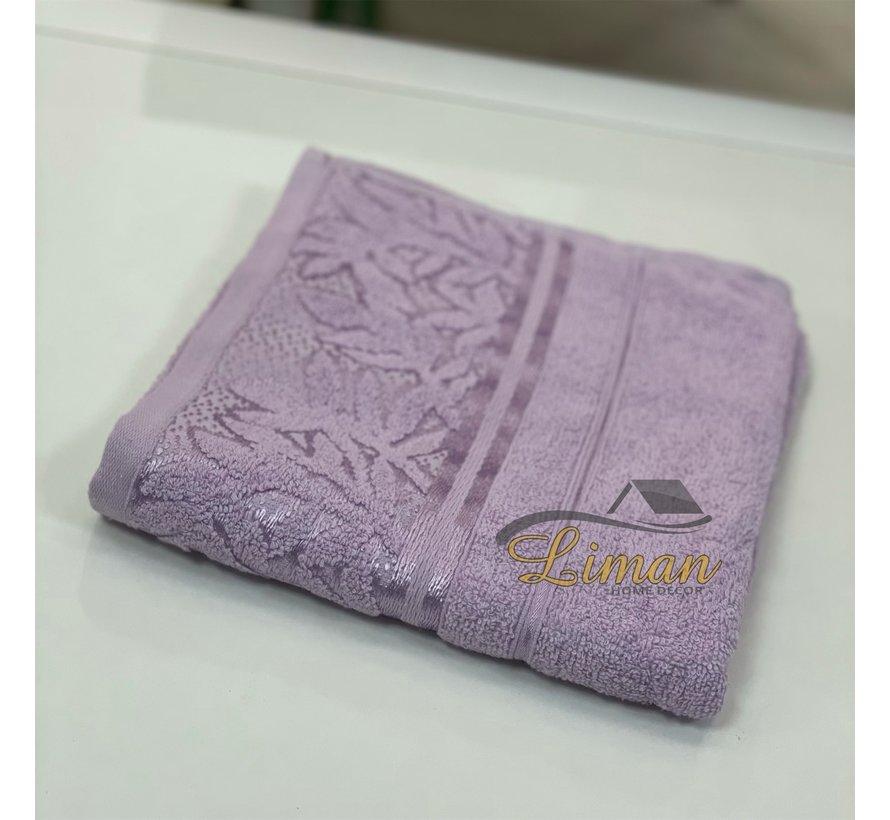 Ipekce Glory Handdoek 50 x 90 Cm Lila / Licht Paars