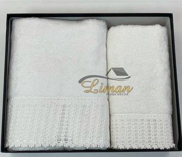 IPEKCE My Home Handdoek set 3 Dlg Cream