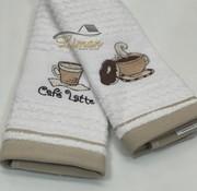 IPEKCE Ipekce Keuken Handdoek 30 x 50 Cm 2 Delig Beige