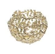 SCHUSSEL CORAL GOLD 16X19CM NICKEL
