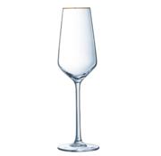 COSY Cosy 4 delig Champagneglazen Met Gouden Rand 21 CL