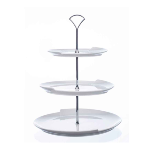 Cosy COSY 3 LAAGS ETAGERE WIT D30XH38,5CM