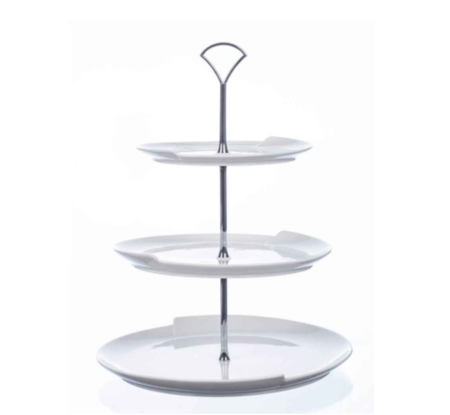COSY 3 LAAGS ETAGERE WIT D30XH38,5CM