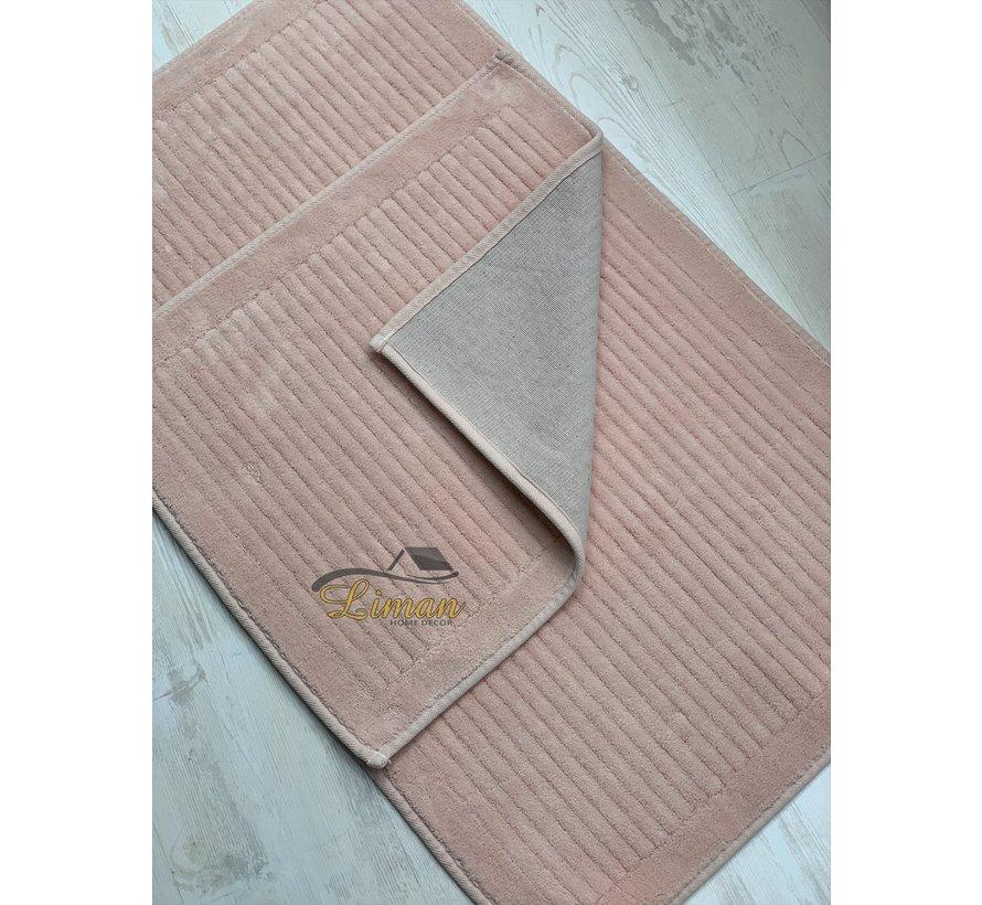 4K Pileli Badmatset Roze