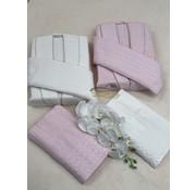 IPEKCE Ipekce Melis 6 - Delige Badjas set  Cream / Roze