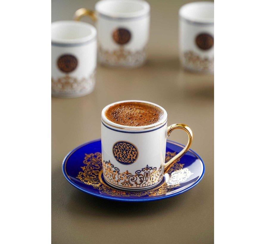 Acr Collesium Damask Espressoset 12 Delig
