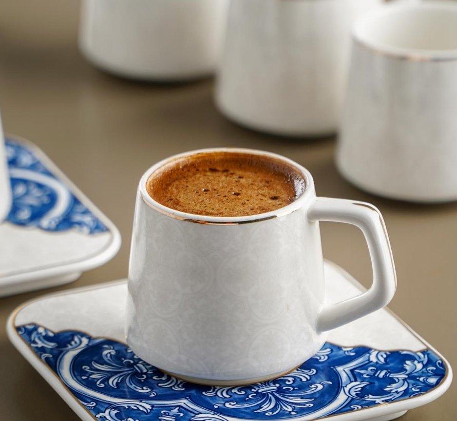 Acr Marrakesh Vintage Espresso set 12 Delig