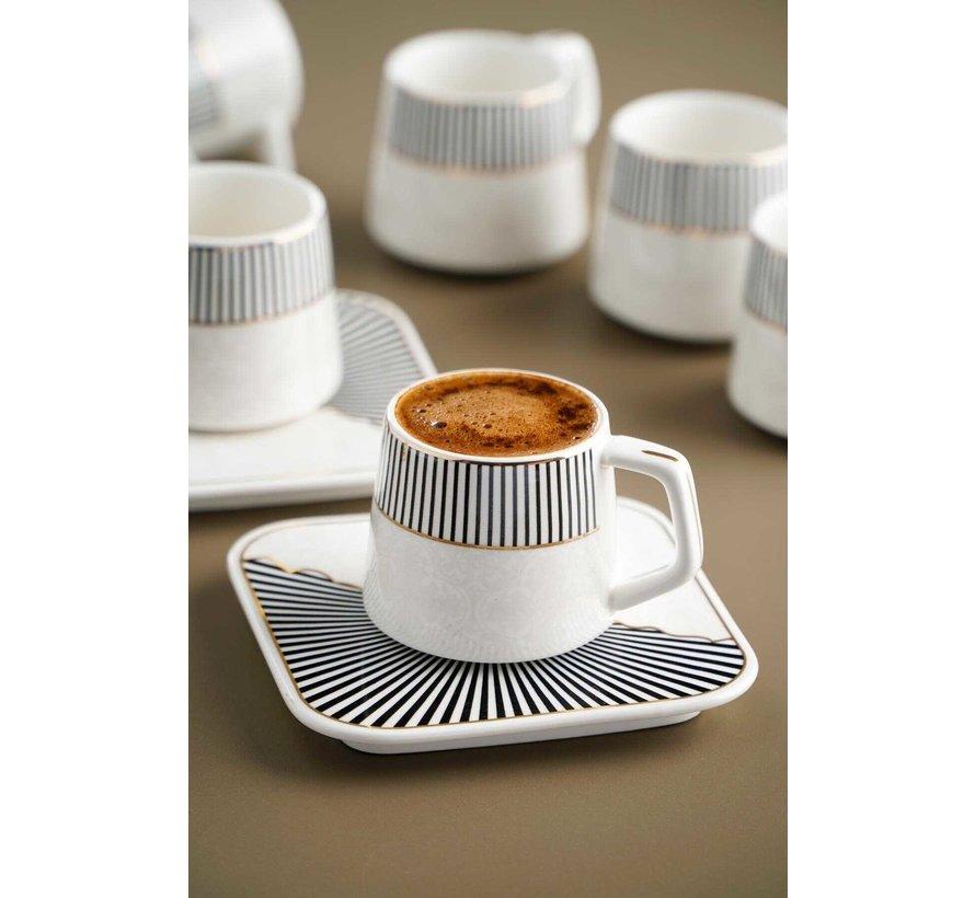 Acr Marrakesh Espresso set 12 Delig