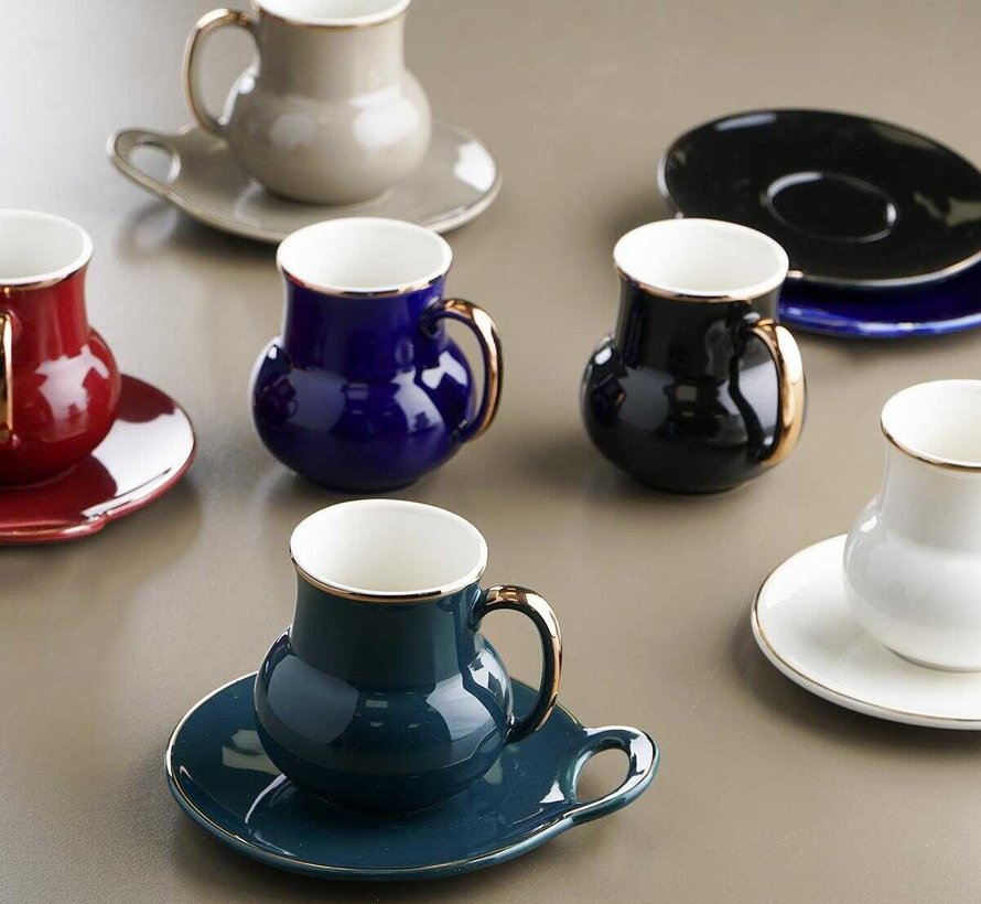 Acr Lightning Koffie & Tea Set 12 Delig