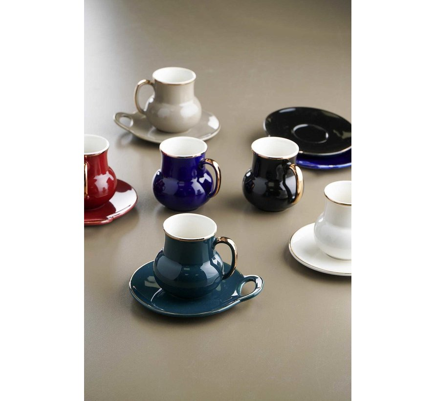 Acr Lightning Koffie & Tea Set 12 Delig