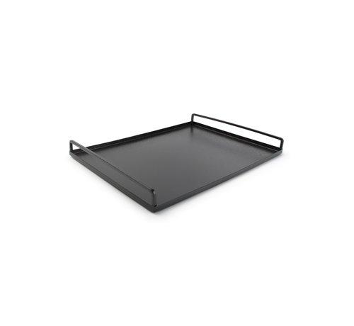 S P Collection Digna Dienblad 40x30xH4cm zwart