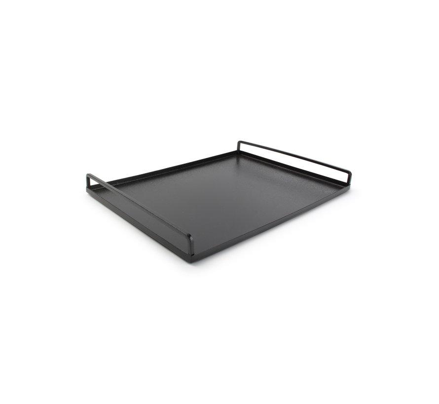 Digna Dienblad 40x30xH4cm zwart