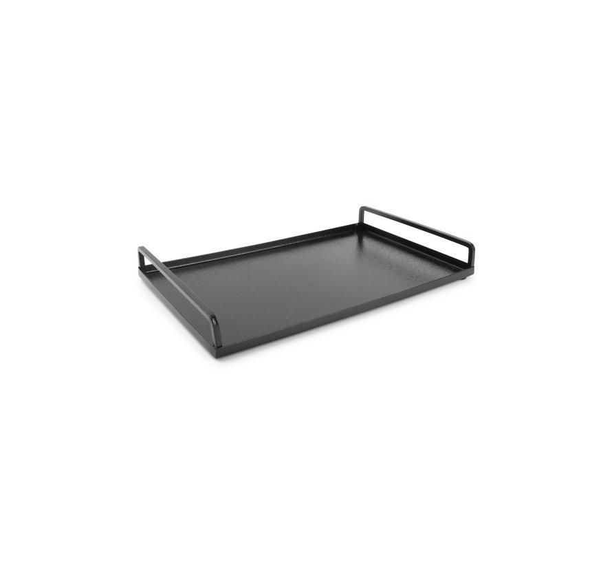 Digna Dienblad 33x20xH4cm zwart